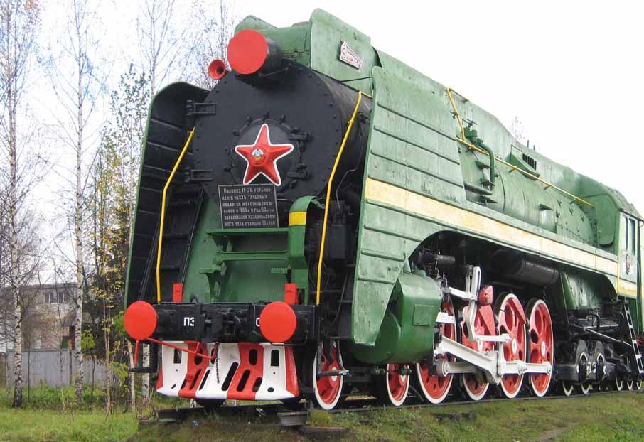 ВЯрославле паровоз-памятник приведут врабочее состояние