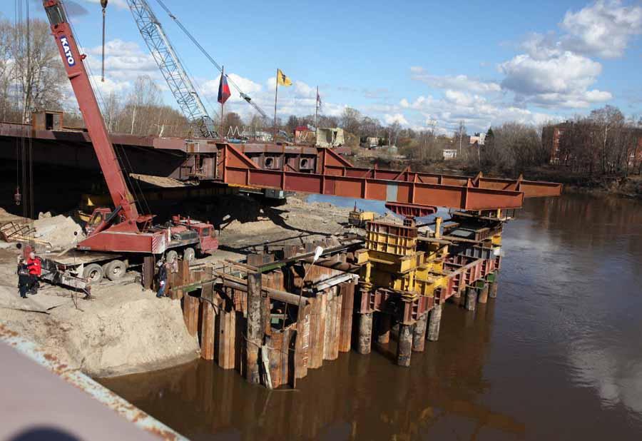 ВЯрославле заканчивается строительство моста через Которосль: когда откроют движение