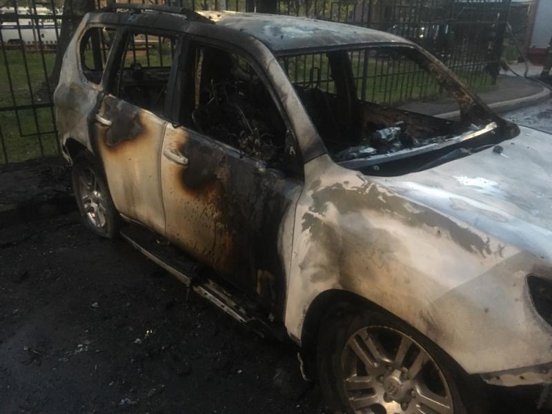 Машины впламени: ночью вЯрославле иРыбинске полыхали иномарки