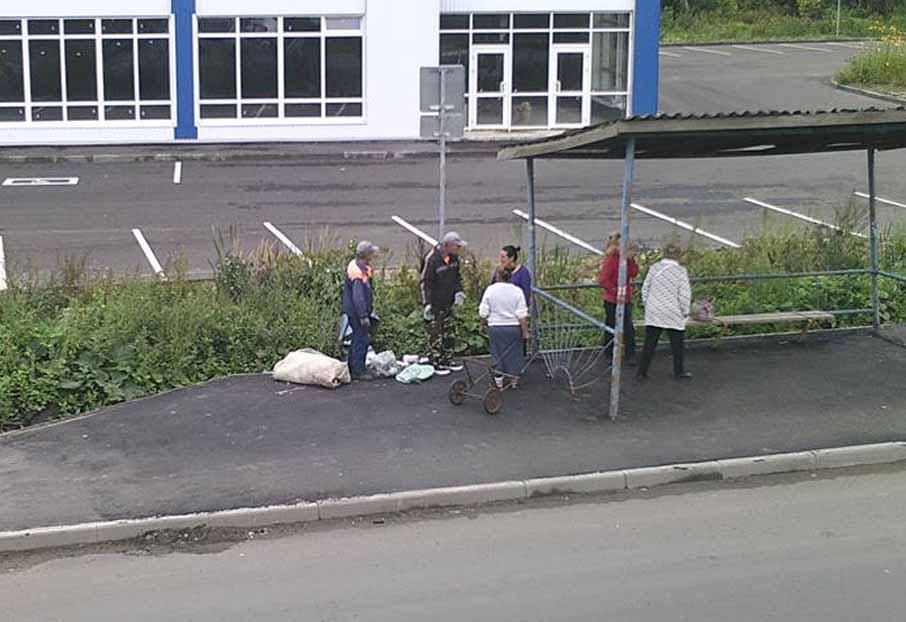 ВРыбинске ловят «мусорных» нарушителей