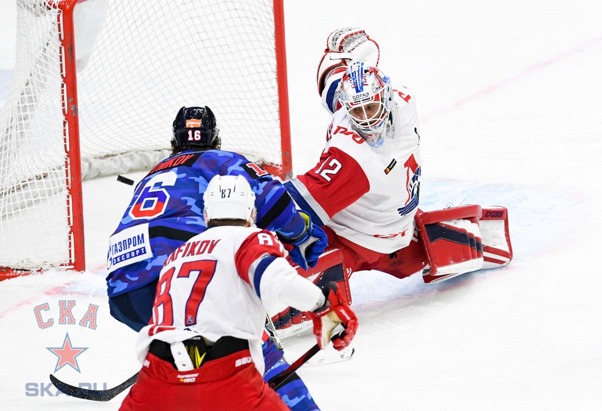 СКА одержал четвёртую победу подряд, выиграв у«Локомотива»