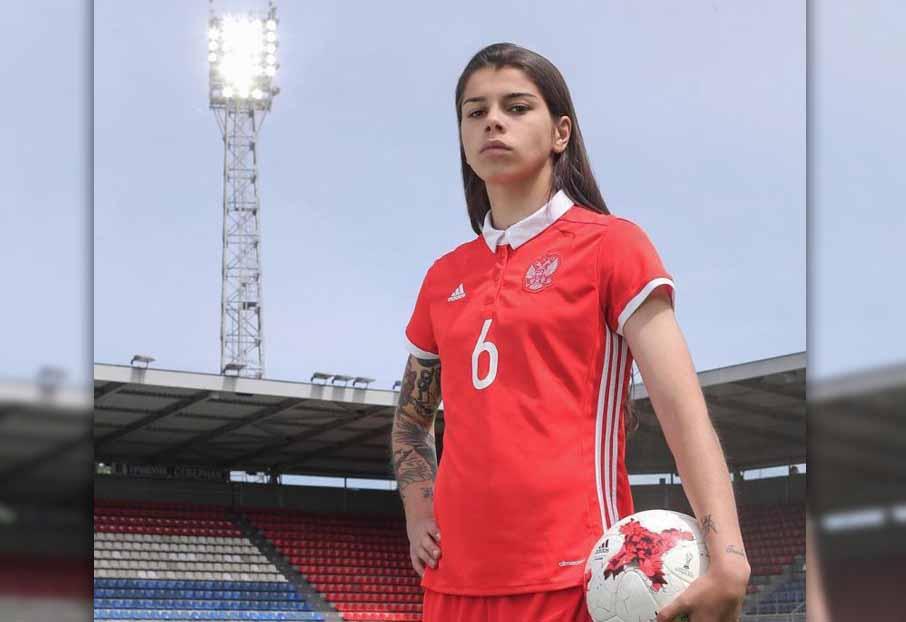 Футболистка изРыбинска появилась наобложке популярного женского журнала